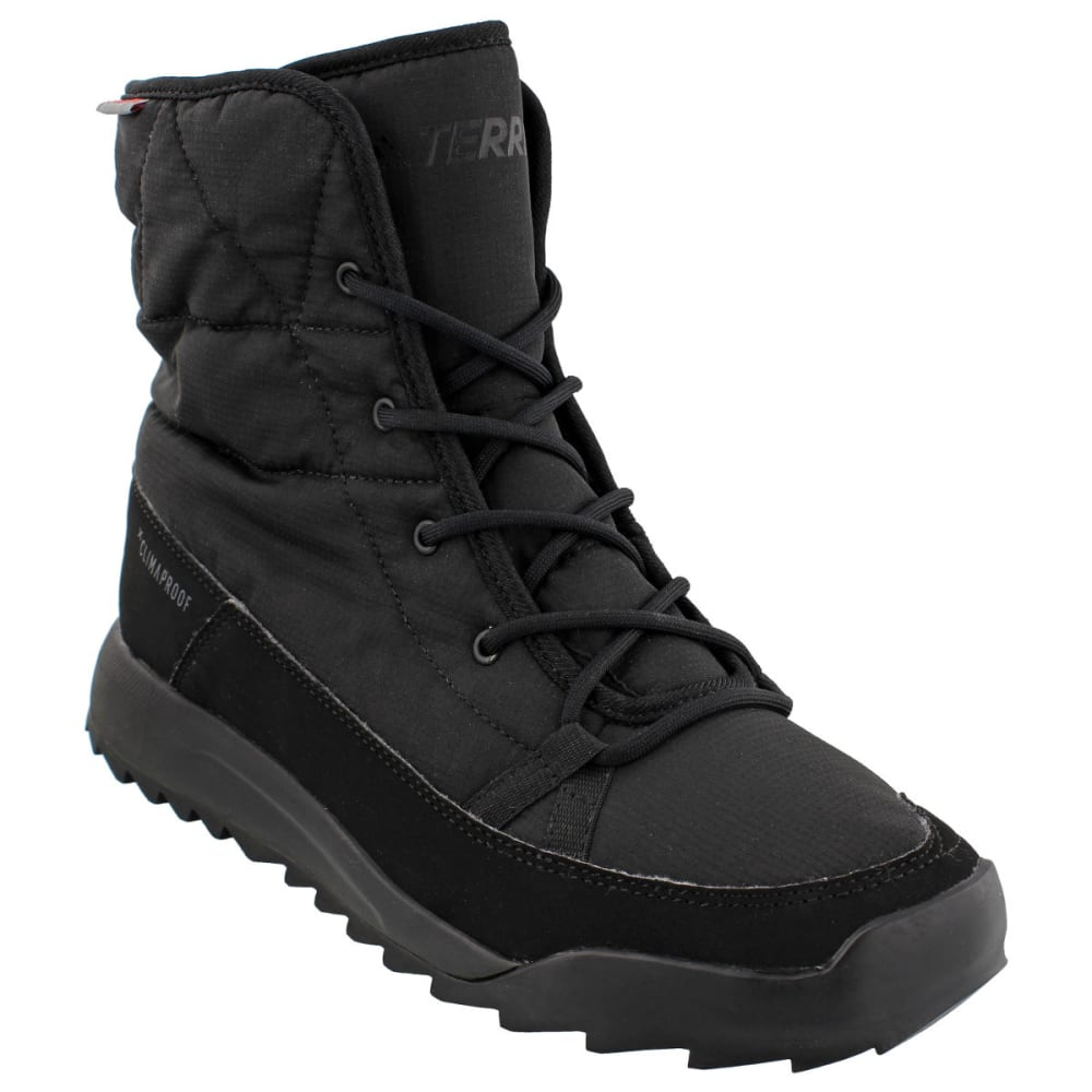 ADIDAS Women's Terrex Choleah Padded CP Cold Weather Boots, Black - BLACK/WHITE/GREY