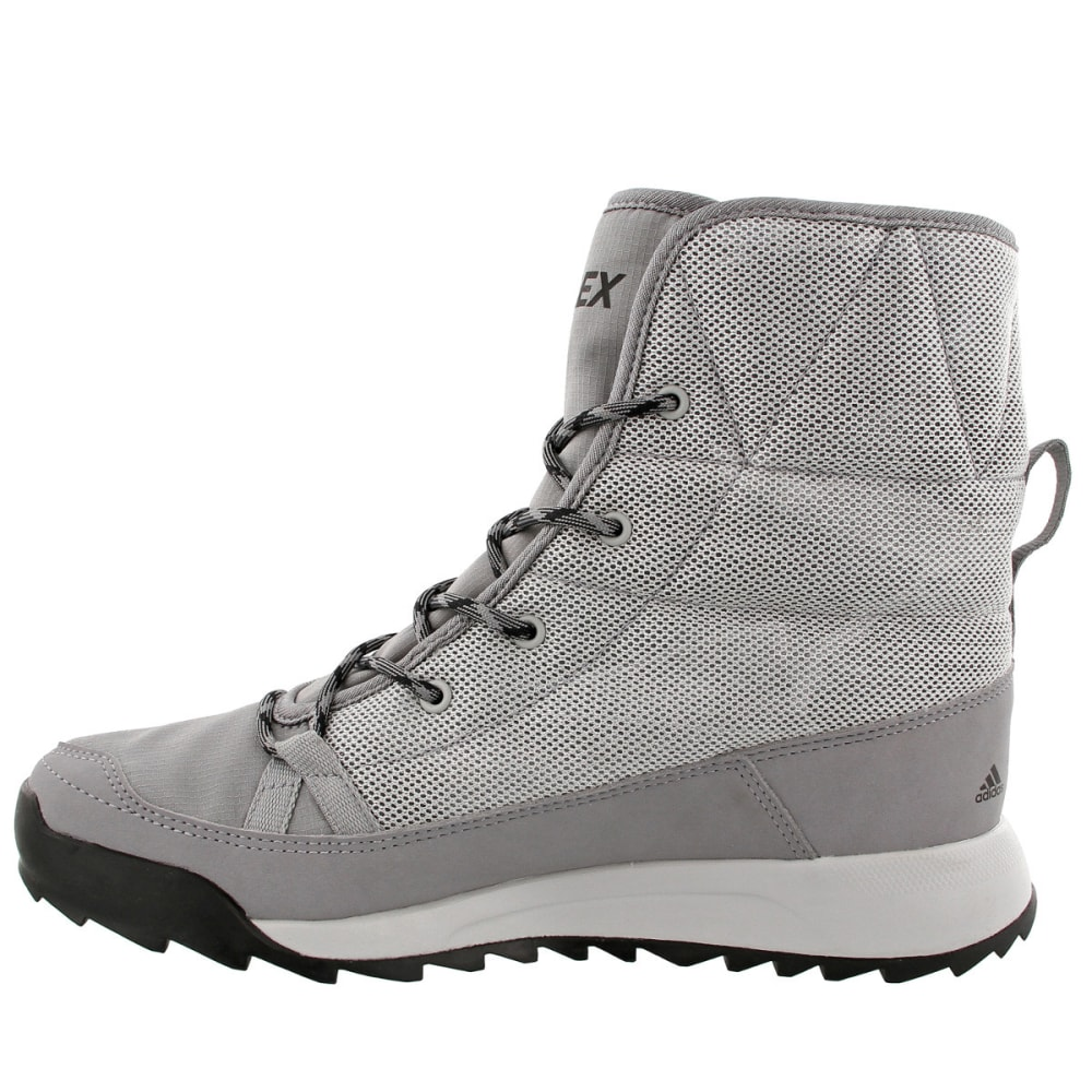ADIDAS Women's Terrex Choleah Padded CP Cold Weather Boot, Grey - GREY/GREY/WHITE