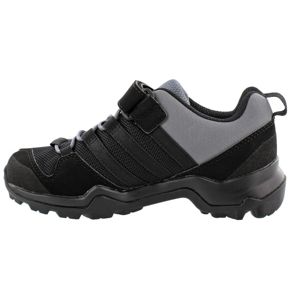 ADIDAS Kid's Terrex AX2R CF Hiking Shoes, Black - BLACK/BLACK/ONIX