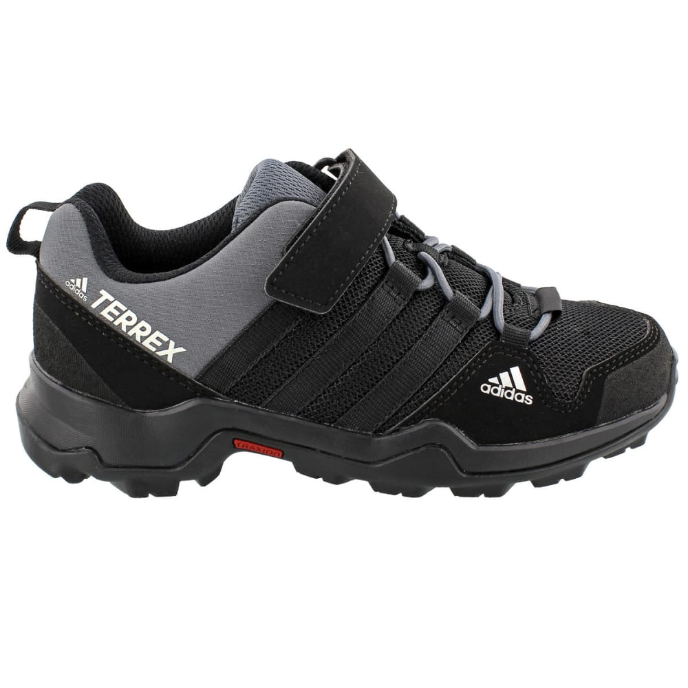 ADIDAS Kid's Terrex AX2R CF Hiking Shoes, Black - BLACK/BLACK/ONIX