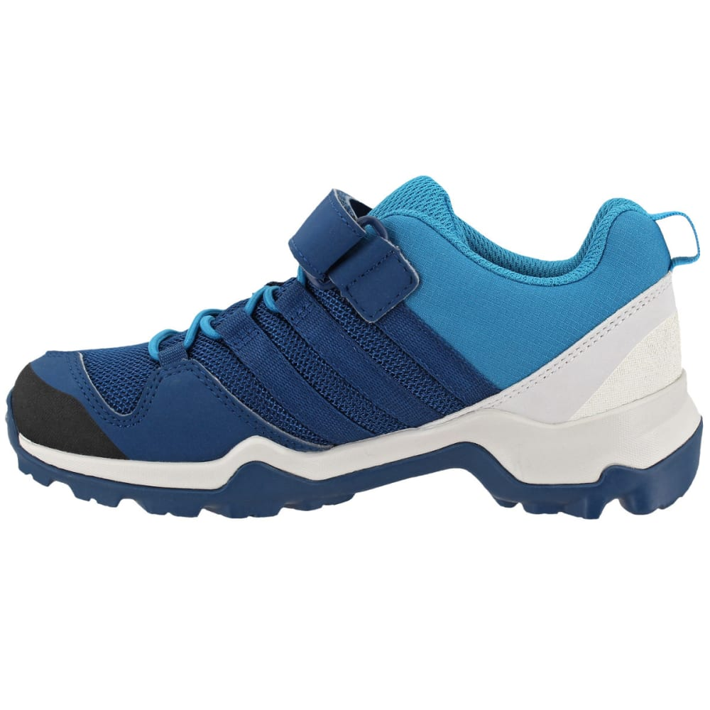ADIDAS Kid's Terrex AX2R CF Hiking Shoes, Blue - BLUE/BLUE/PETROL