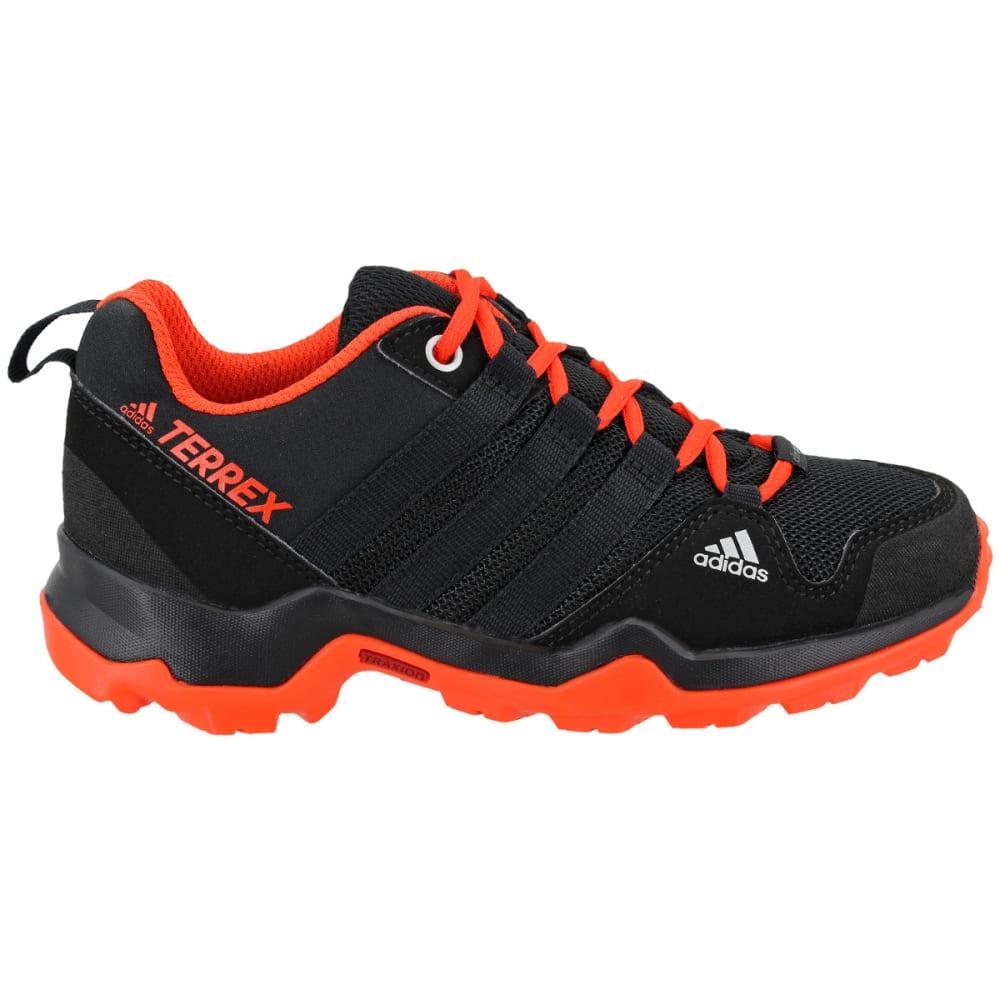 ADIDAS Kid's Terrex AX2R CP Hiking Shoes, Black - BLACK/BLACK/ENERGY