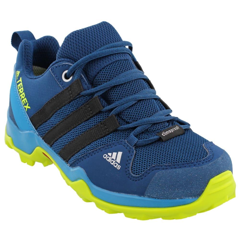 ADIDAS Kid's Terrex AX2R CP Hiking Shoes,Blue - BLUE/BLACK/YELLOW