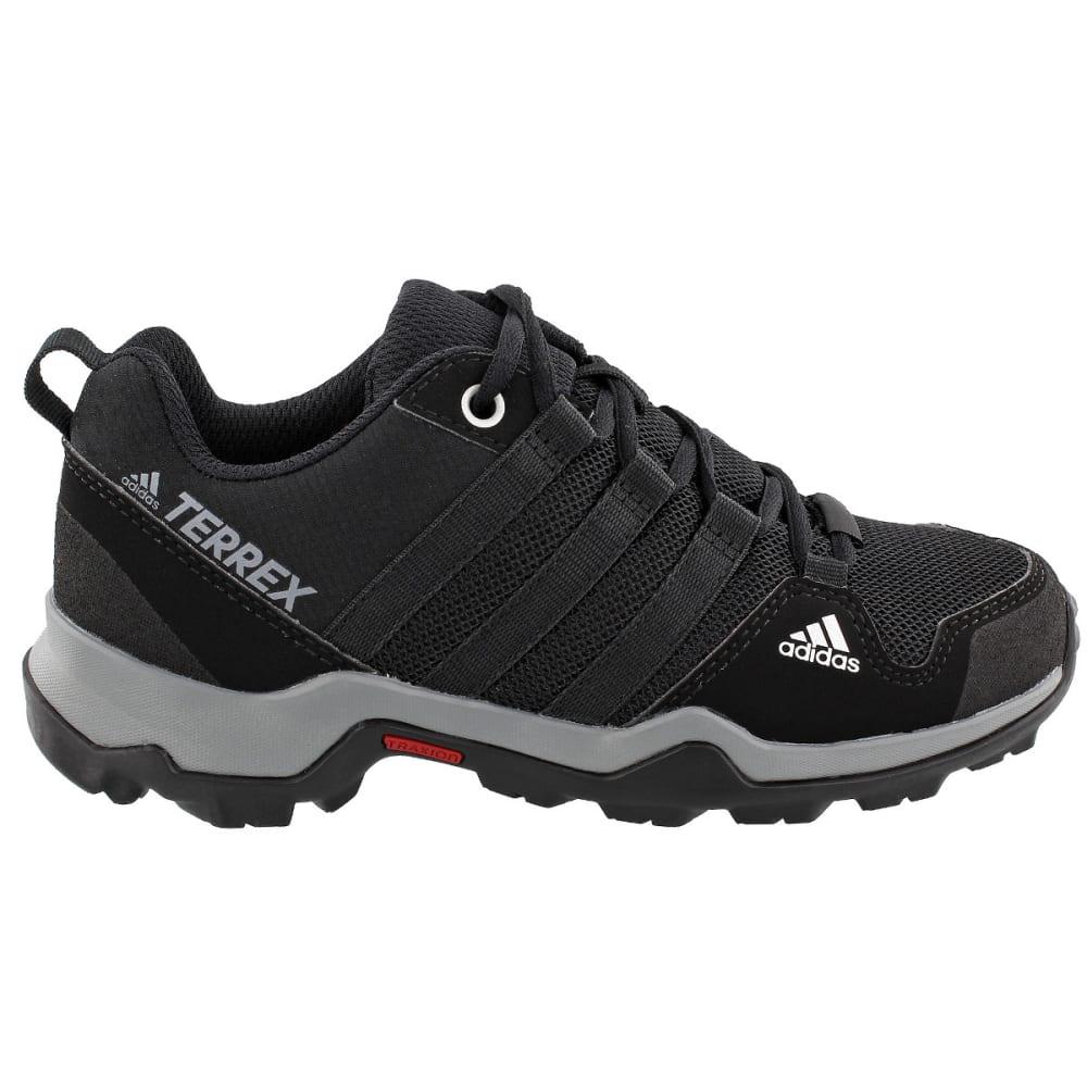 ADIDAS Kid's Terrex AX2R Hiking Shoes, Black - BLACK/BLACK/GREY