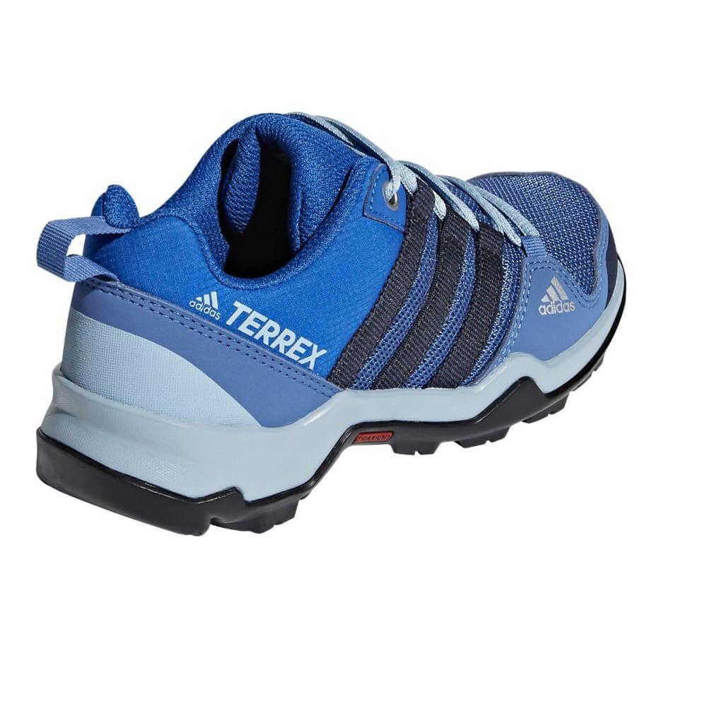 ADIDAS Kid's Terrex AX2R Hiking Shoes, Black - ROYAL/NAVY/GREY