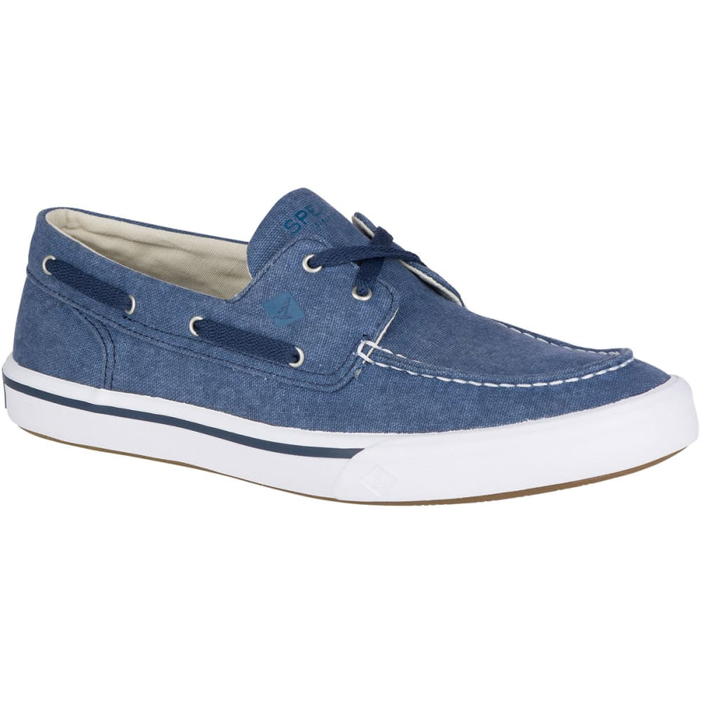 SPERRY Men's Top-Sider Bahama II Boat Washed Boat Shoes - NAVY