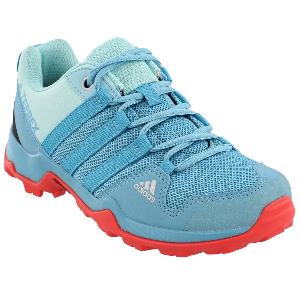 ADIDAS Kid's Terrex AX2R Hiking Shoes, Blue - BLUE/BLUE/CORAL