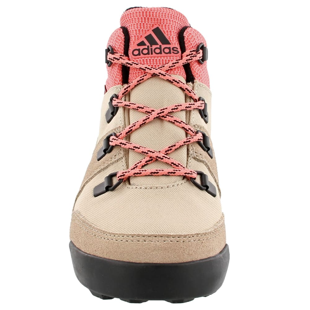 ADIDAS Kids' Snowpitch Hiking Shoes, Icey Pink/Trace Khaki/Energy Pink - PINK/KHAKI/ENERGY