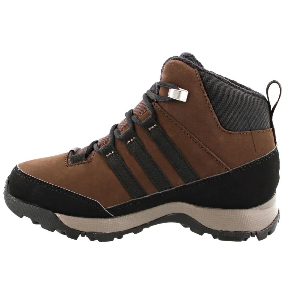 ADIDAS Kids' Winter Hiker Mid GTX Shoes, Brown/Black/Simple Brown - BROWN/BLACK/BROWN