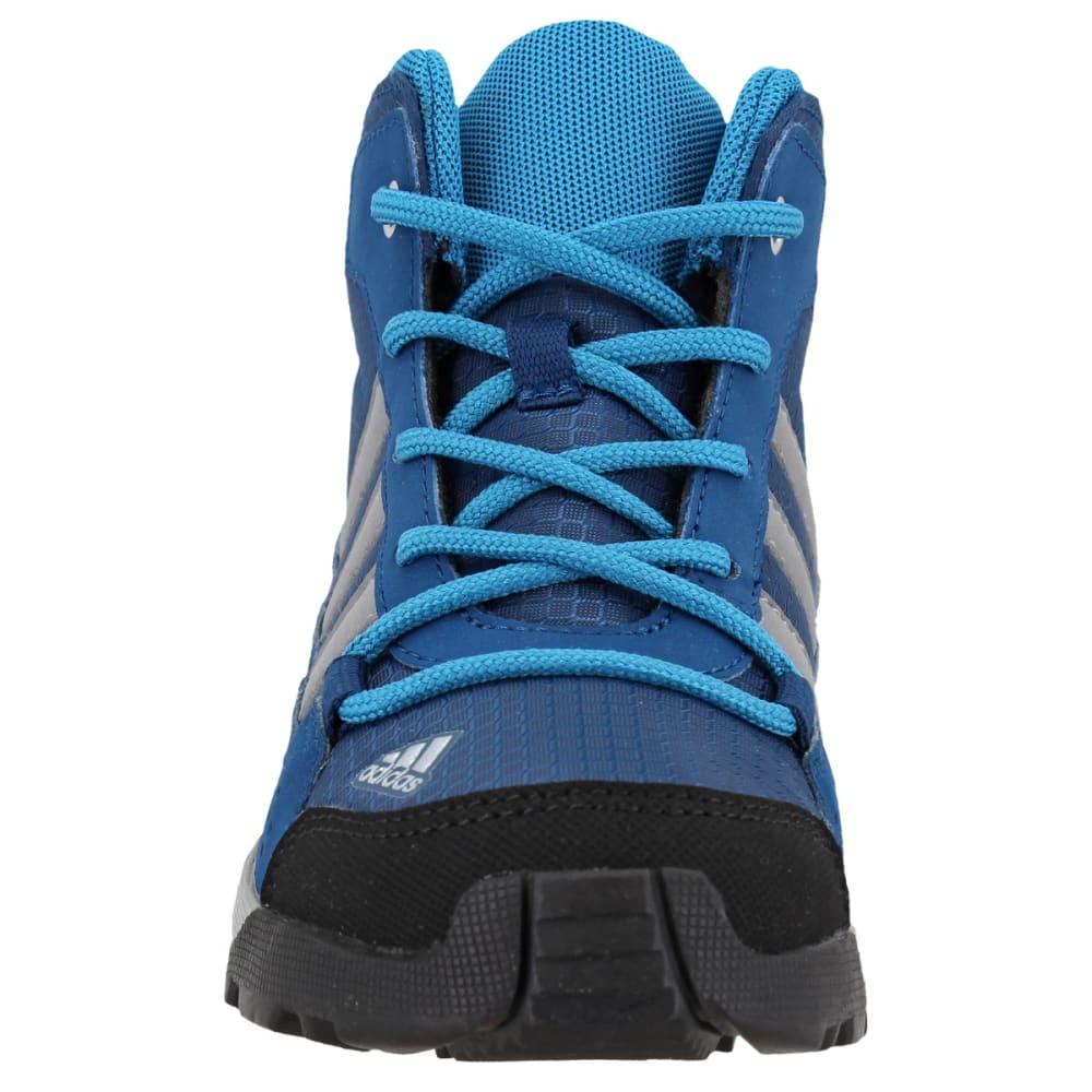 ADIDAS Kids' Hyperhiker Hiking Shoes, Blue Night/Grey Three/Mystery Petrol - BLUE/GREY/PETROL