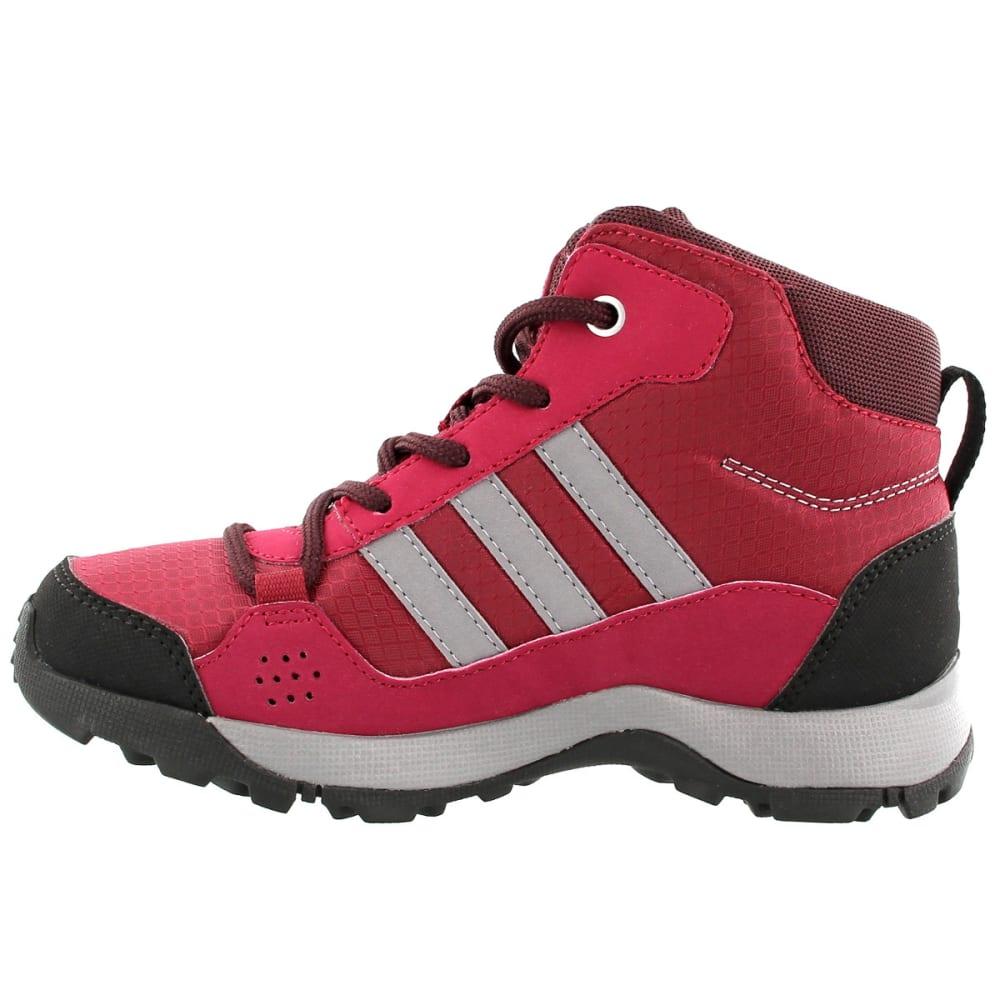 ADIDAS Kids' Hyperhiker Hiking Shoes, Mystery Ruby/Grey Three/Dark Burgundy - RUBY/GREY/BURGUNDY