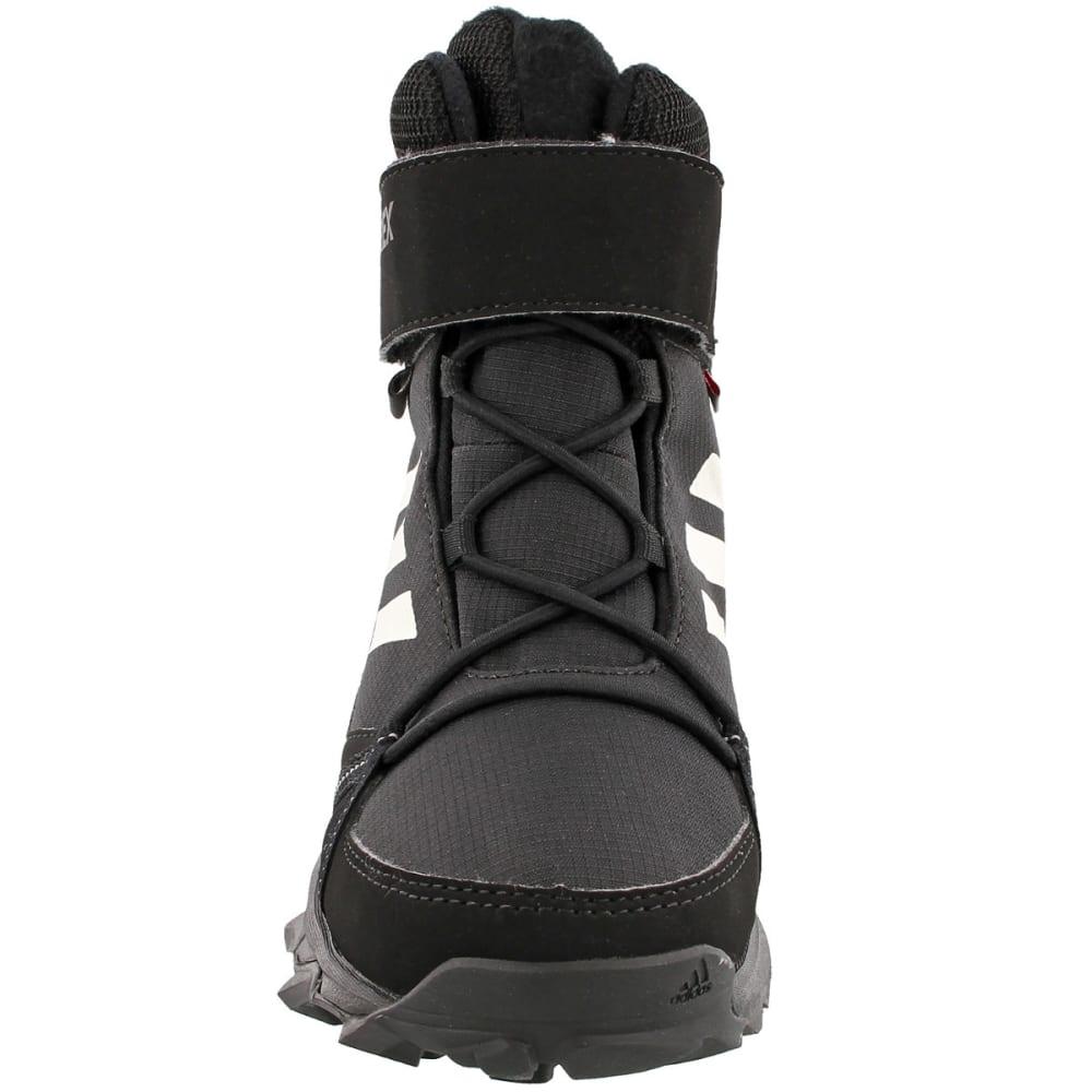 cheap for discount 60035 328d1 ADIDAS Kids  39  Terrex Snow Boots, Black Chalk White Black -