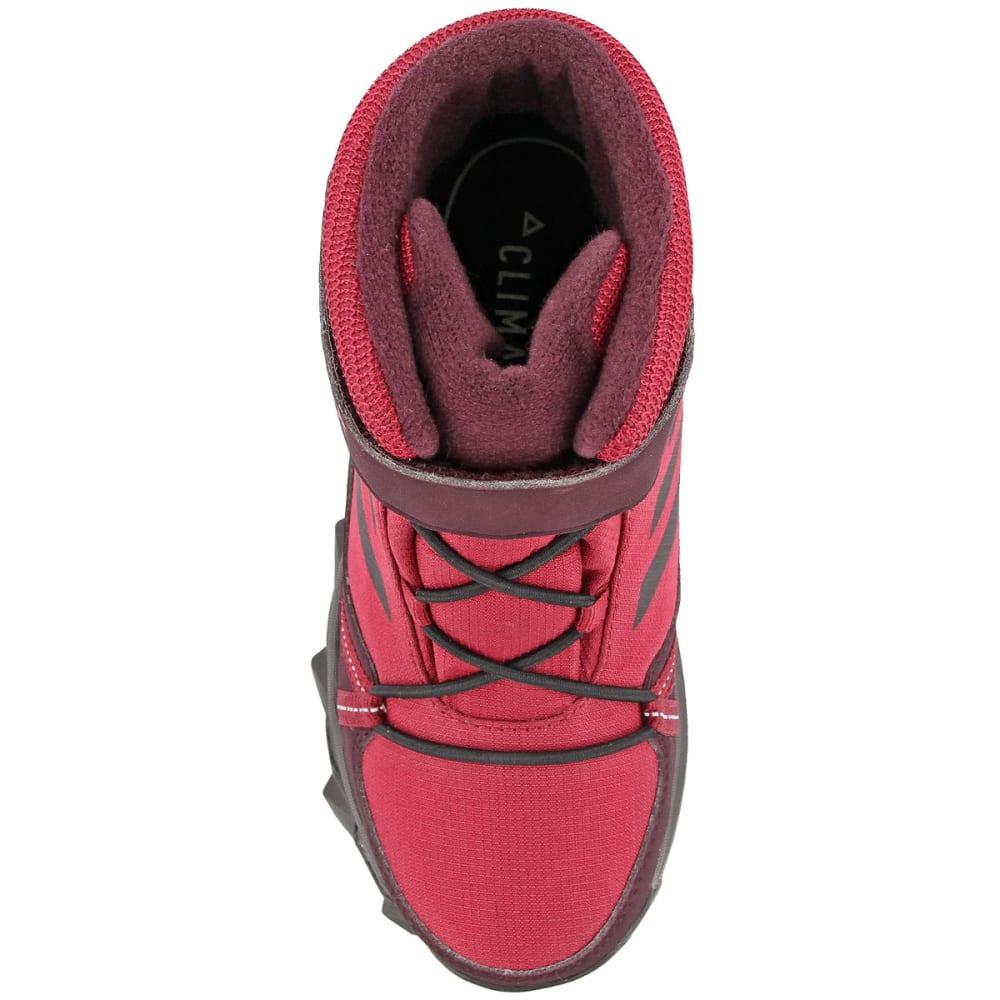 ADIDAS Kids' Terrex Snow Boots, Mystery Ruby/Black/Dark Burgundy - RUBY/BLACK/BURGUNDY