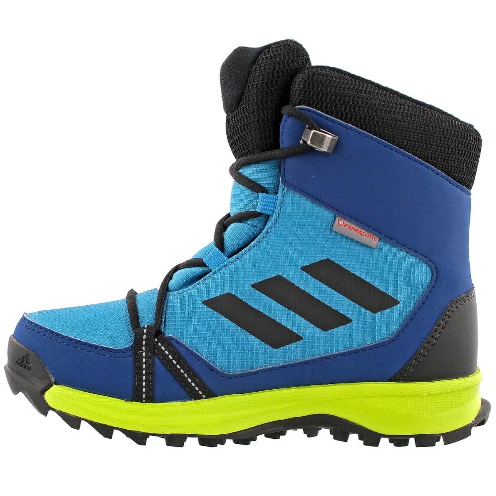 ADIDAS Kids' Terrex Snow Boots, Mystery Petrol/Black/Blue Night - PETROL/BLACK/BLUE