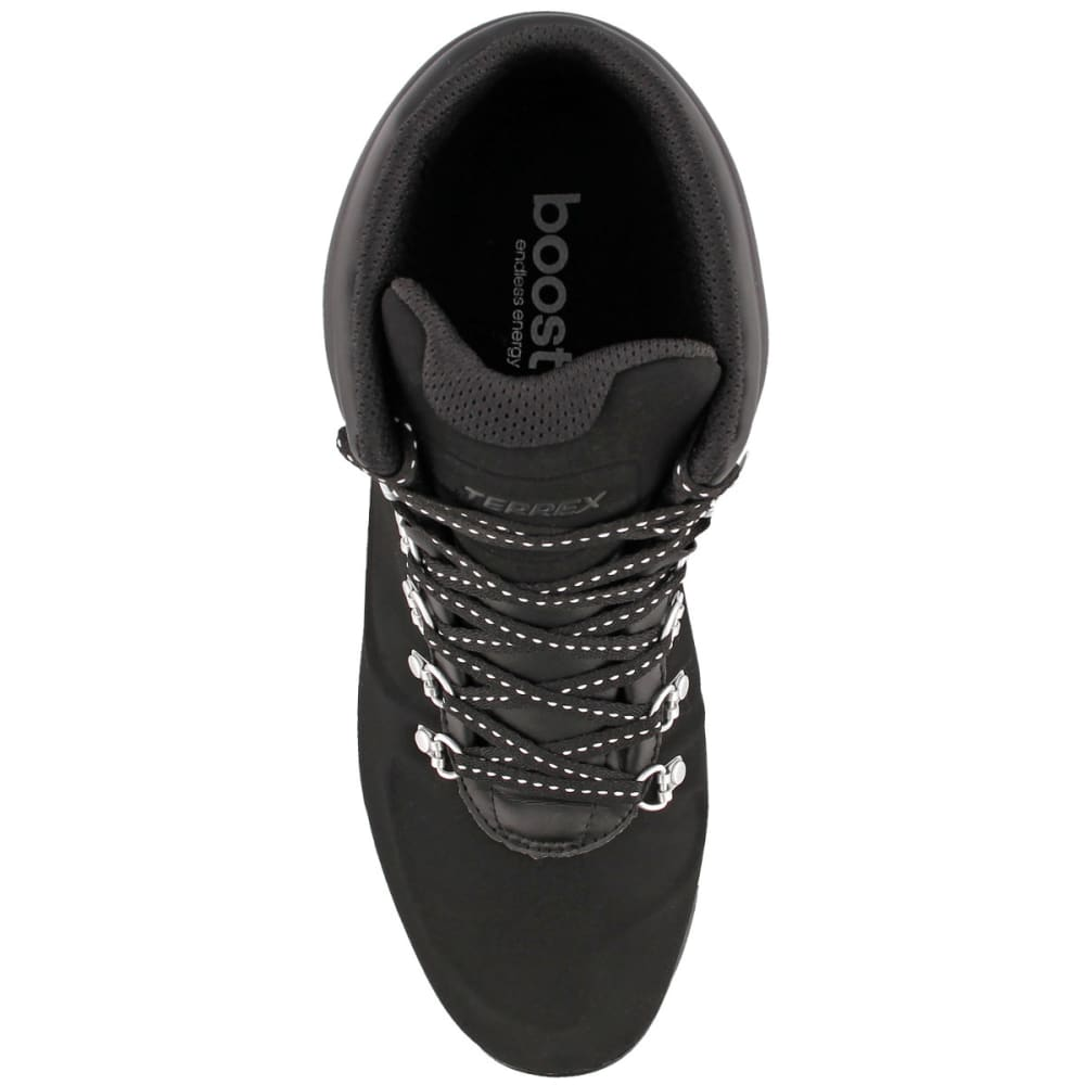 ADIDAS Men' Terrex Pathmaker Climawarm Hiking Boots, Black/Chalk White/Tech Silver Met. - BLACK/WHITE/SILVER