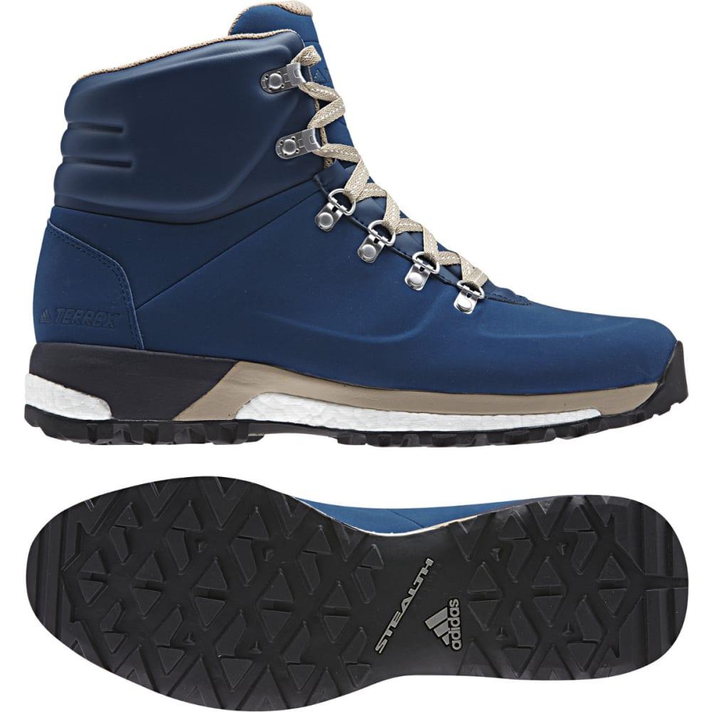 ADIDAS Men' Terrex Pathmaker Climawarm Hiking Boots, Blue Night/Trace Khaki/White - BLUE/KHAKI/WHITE