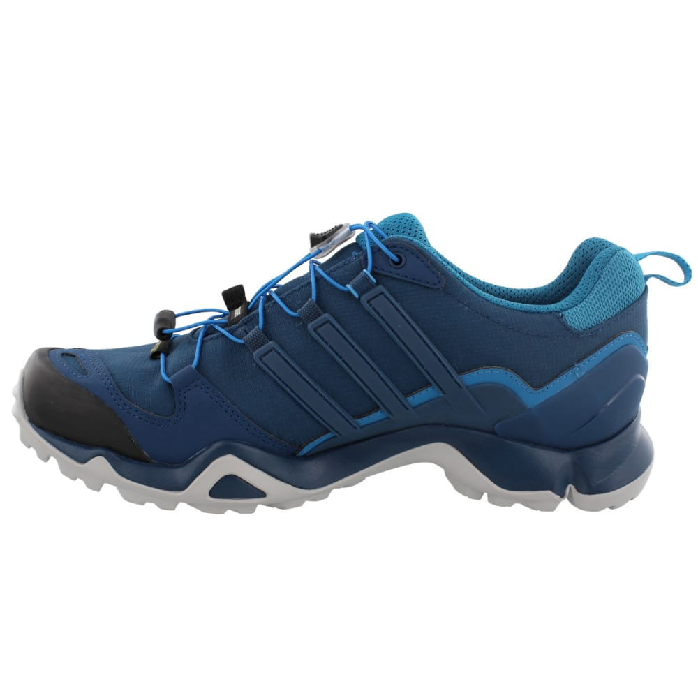 ADIDAS Men's Terrex Swift R GTX Hiking Shoes, Blue Night/Blue Night/Mystery Petrol - BLUE/BLUE/PETROL