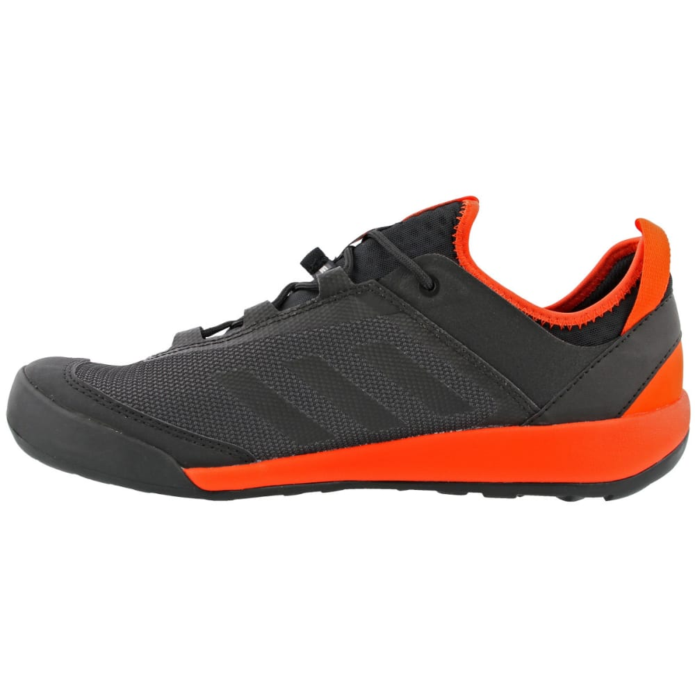 ADIDAS Men's Terrex Swift Solo Outdoor Shoes, Black/Black/Energy - BLACK/BLACK/ENERGY