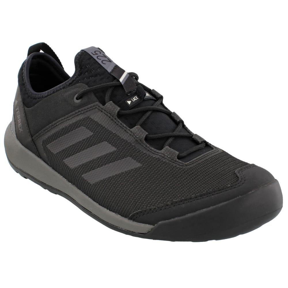 ADIDAS Men's Terrex Swift Solo Outdoor Shoes, Utility Black/Black/Grey Four - BLACK/BLACK/GREY