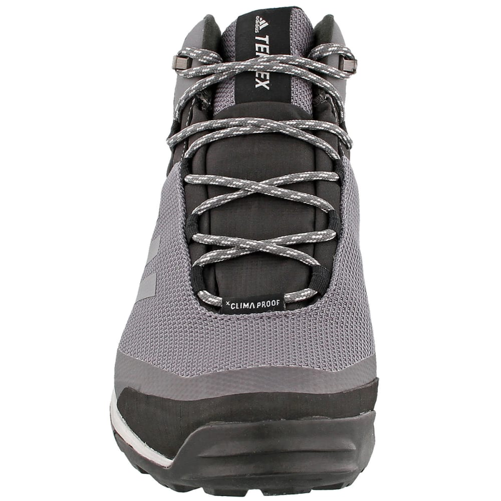 ADIDAS Men's Terrex Tivid Mid Cut Hiking Shoes, Grey Four/Grey Four/Grey Five - GREY/GREY/GREY