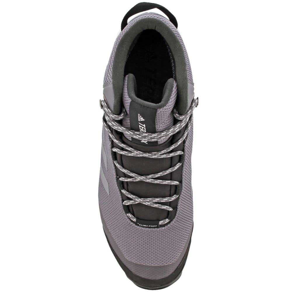 ADIDAS Men's Terrex Tivid Mid Cut Hiking Shoes, Grey Four/Grey Four/Grey Five - GREY/GREY/GREY