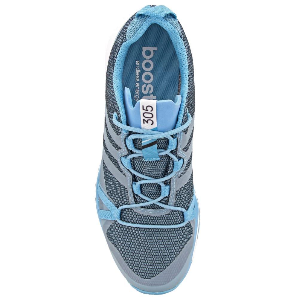 ADIDAS Women's Terrex Agravic GTX Trail Running Shoes, Vapor Blue/Clear Aqua/White - BLUE/AQUA/WHITE