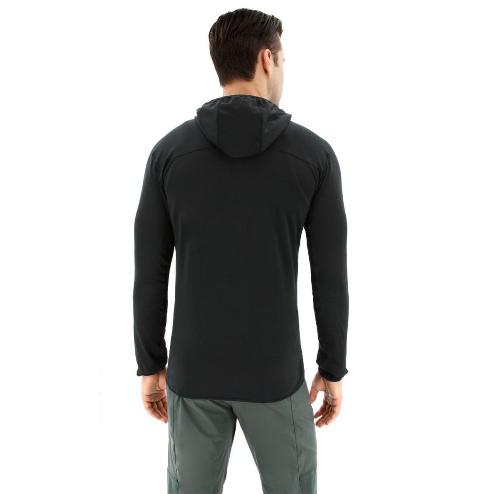 ADIDAS Men's Terrex Tracerocker Hooded Fleece Jacket - BLACK