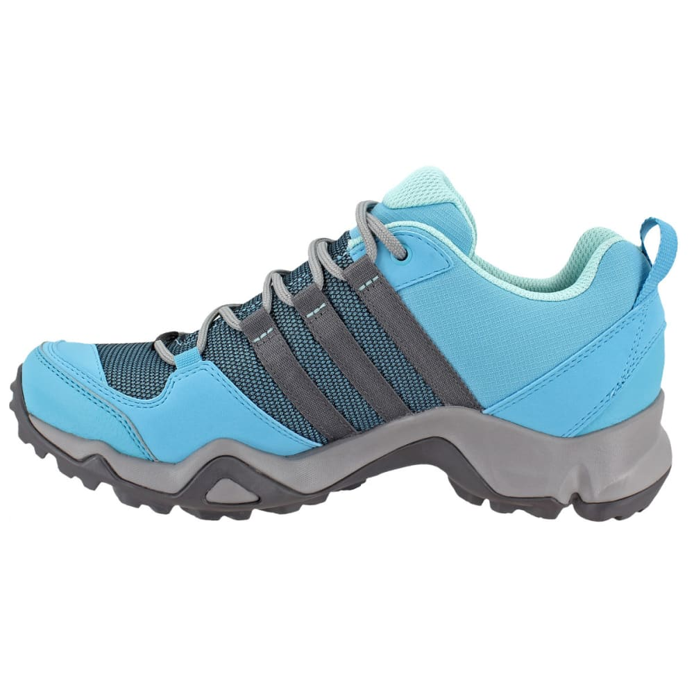 ADIDAS Women's AX2 ClimaProof Hiking Shoes, CH Solid Grey/Vapor Blue/Grey  Five