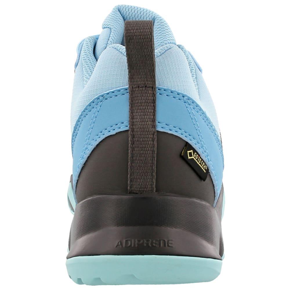 ADIDAS Women's Terrex AX2R GTX Hiking Shoes, Vapor Blue/Utility Black/Clear Aqua - BLUE/BLACK/AQUA