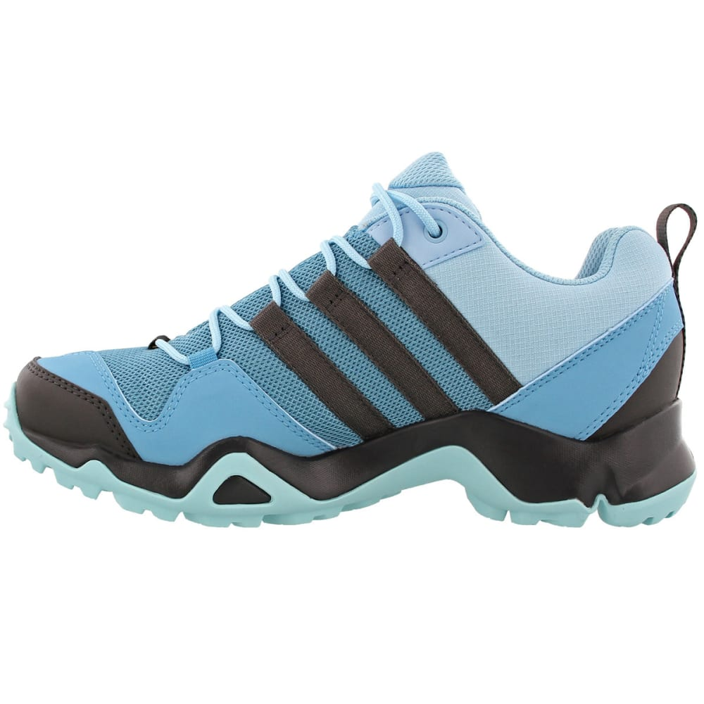 ADIDAS Women's Terrex AX2R GTX Hiking Shoes, Vapor BlueUtility BlackClear Aqua