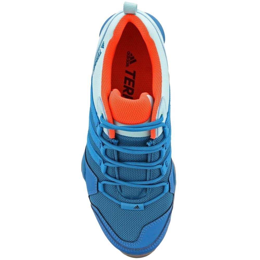 ADIDAS Women's Terrex AX2R Hiking Shoes, Mystery Petrol/Mystery Petrol/Easy Coral - PETROL/PETROL/CORAL