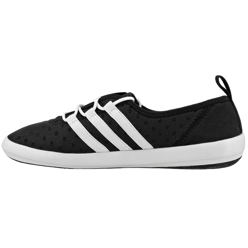 ADIDAS Women's Terrex Climacool Boat Sleek Shoes, Black/Chalk White/Matte Silver - BLACK/WHITE/SILVER