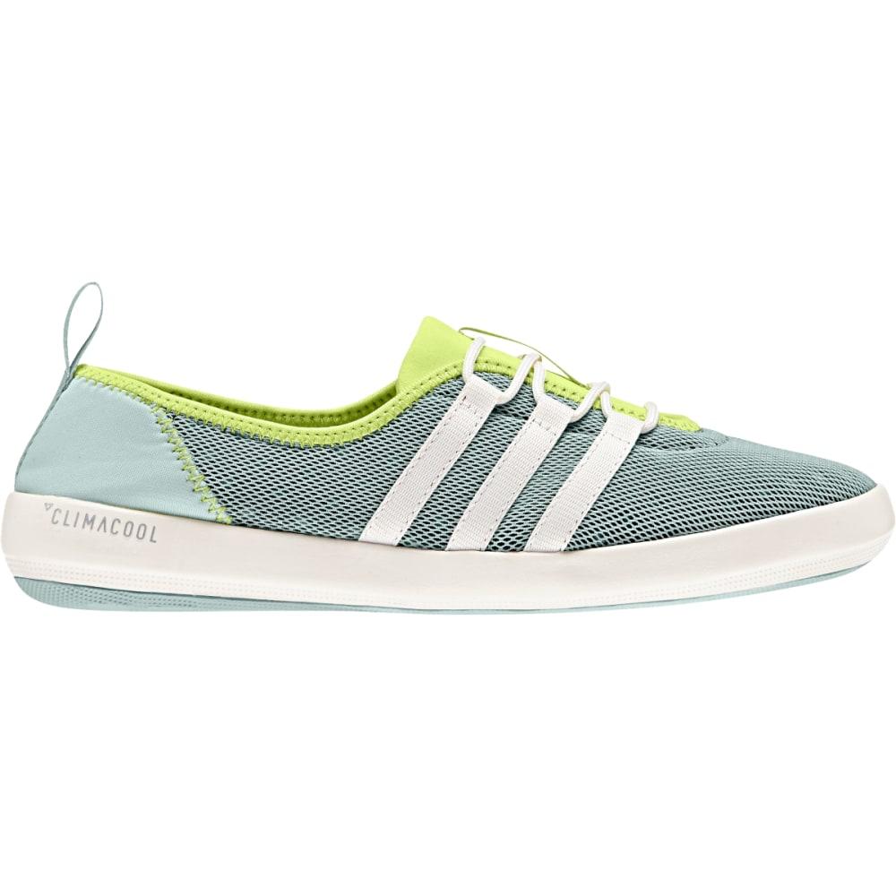 ADIDAS Women's Terrex Climacool Boat Sleek Shoes, Black/Chalk White/Matte Silver 5