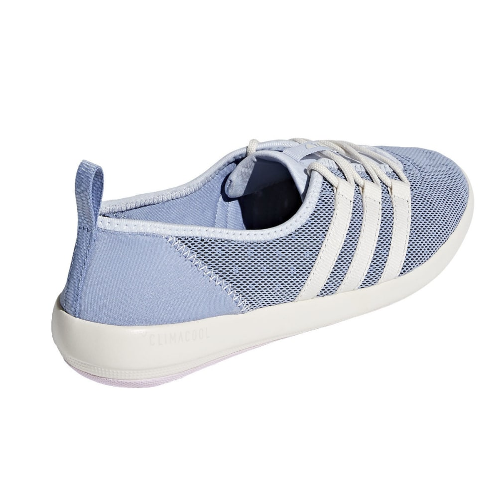 ADIDAS Women's Terrex Climacool Boat Sleek Shoes, Black/Chalk White/Matte Silver - BLUE/WHITE/PINK