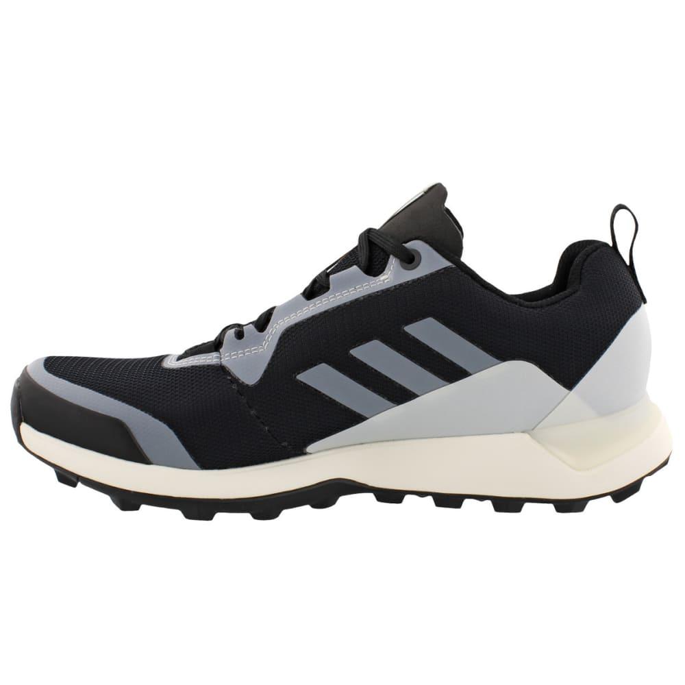 ADIDAS Women's Terrex CMTK GTX Trail Running Shoes, Black/Black/Chalk White - BLACK/BLACK/WHITE