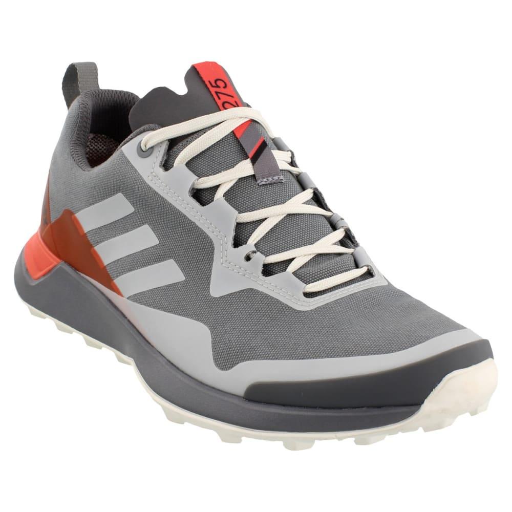 ADIDAS Women's Terrex CMTK GTX Trail Running Shoes, Grey Three/Chalk White/Easy Coral - GREY/WHITE/CORAL