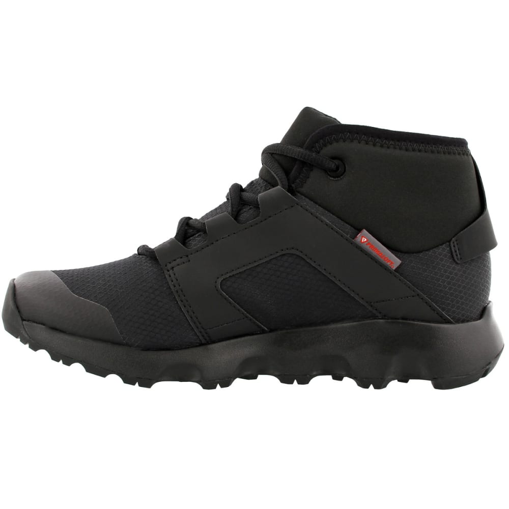 adidas shoes black and white. adidas women\u0026rsquo;s terrex voyager cw cp mid-cut hiking shoes, black/ adidas shoes black and white