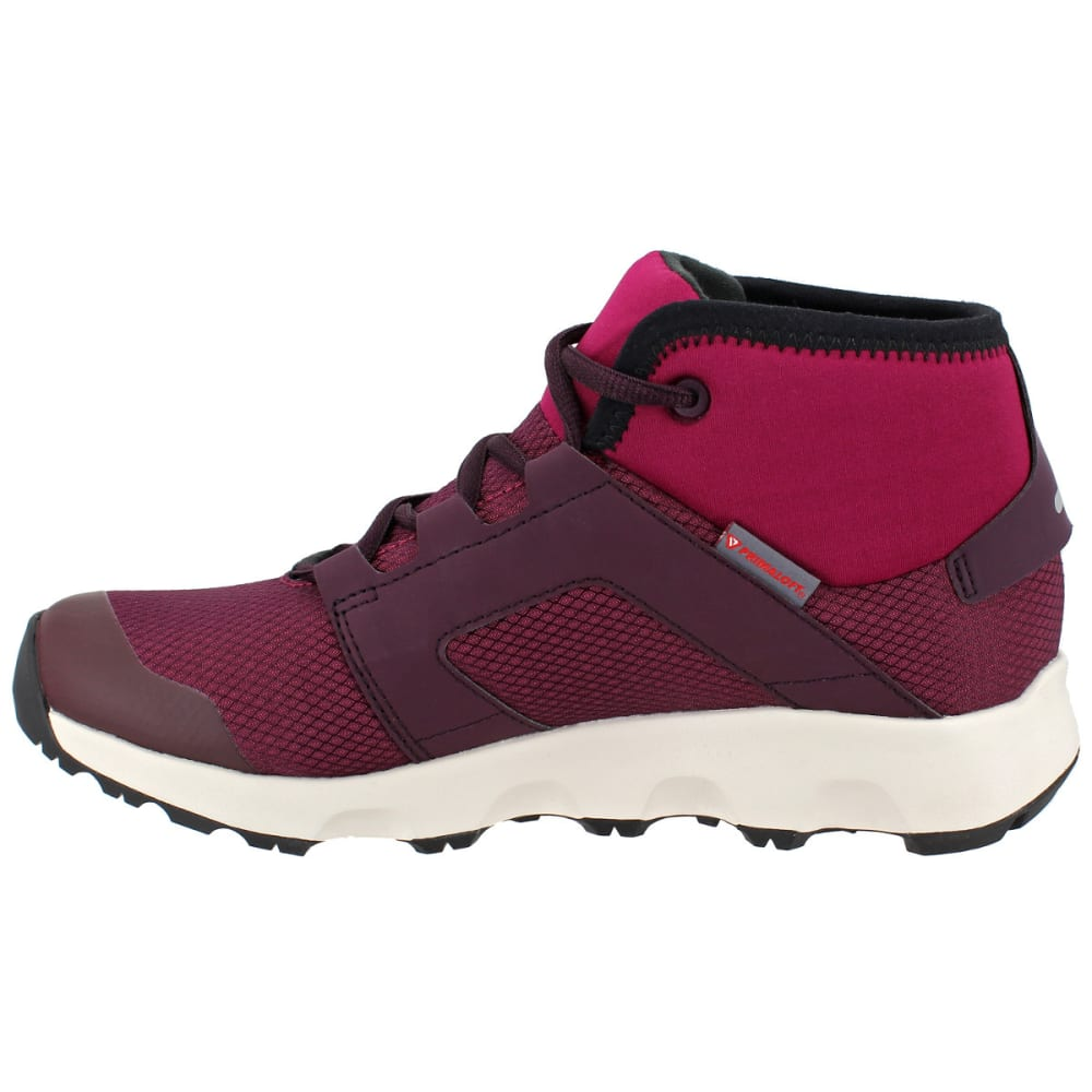 7baa866040 ADIDAS Women's Terrex Voyager CW CP Mid-Cut Hiking Shoes, Mystery Ruby/Dark  Burgundy/Black