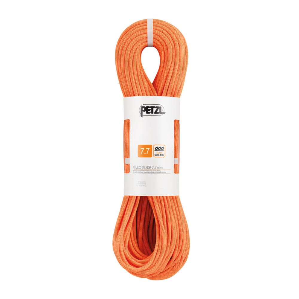 PETZL Paso® Guide 7.7 mm Rope - ORANGE