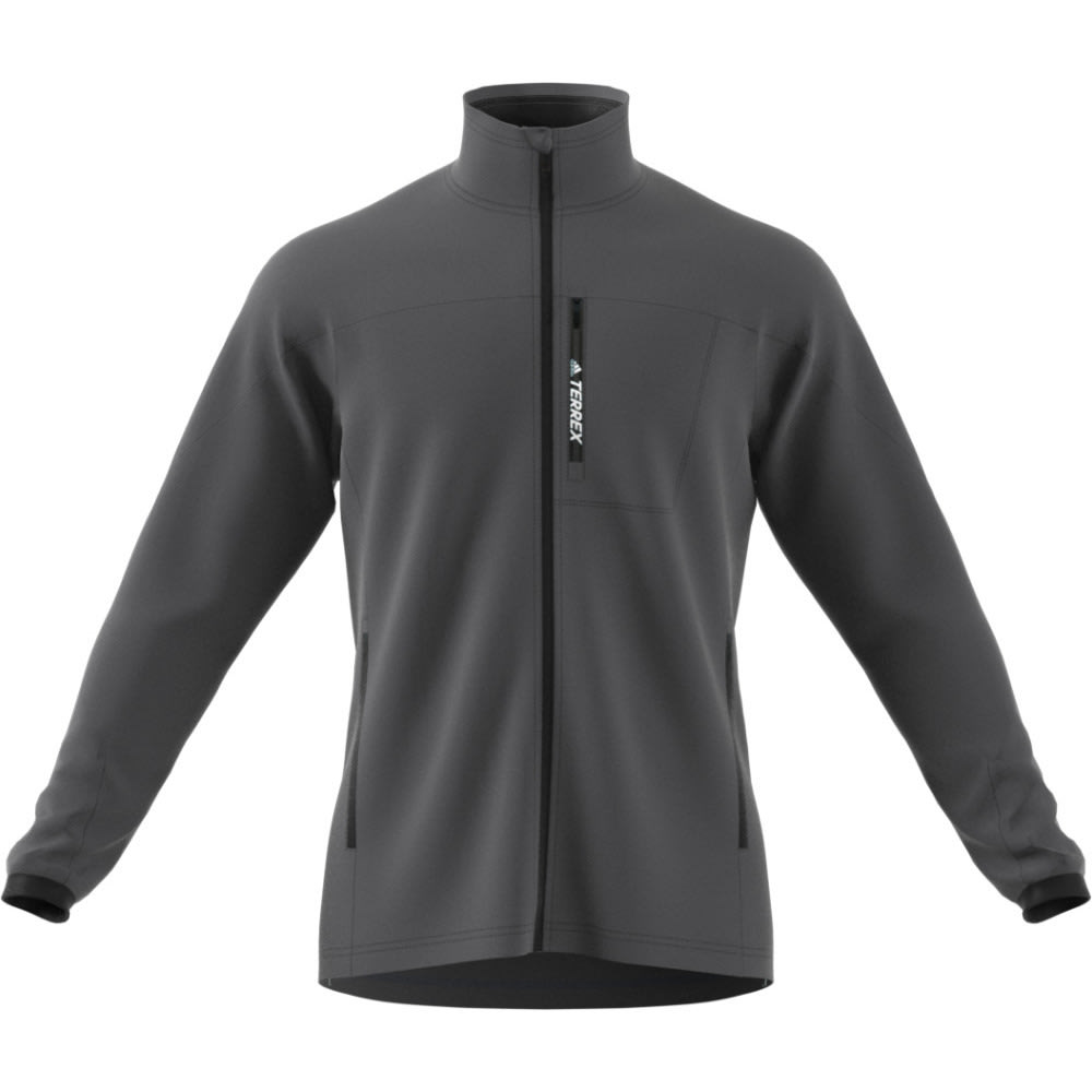 adidas fleece coat