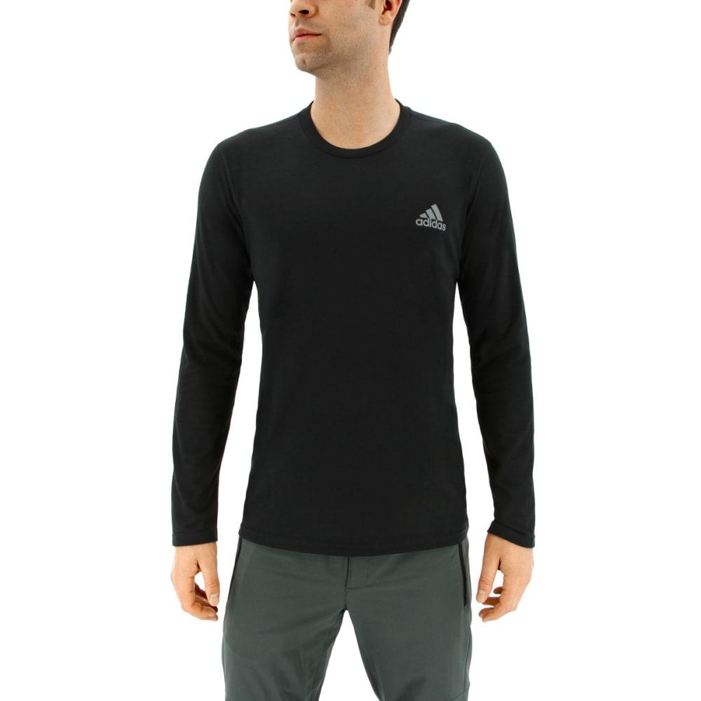 ADIDAS Men's Ultimate Long Sleeve T-Shirt - BLACK