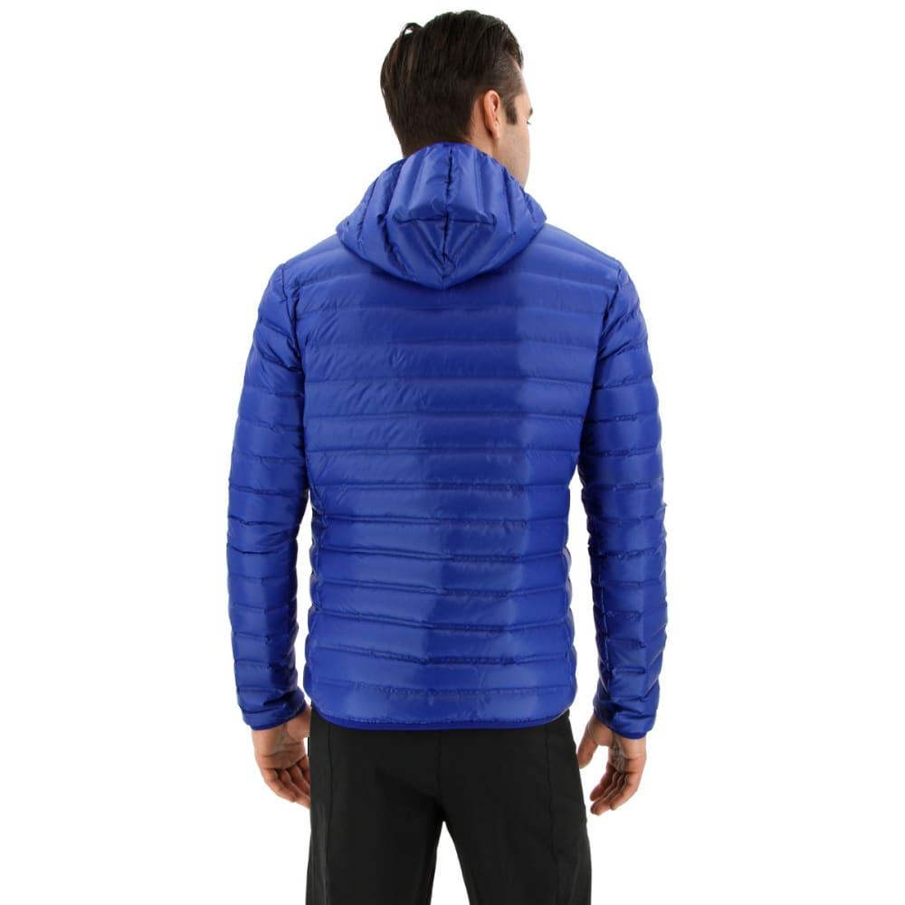 ADIDAS Men's Varilite Hooded Down Jacket - COLLEGIATE ROYAL