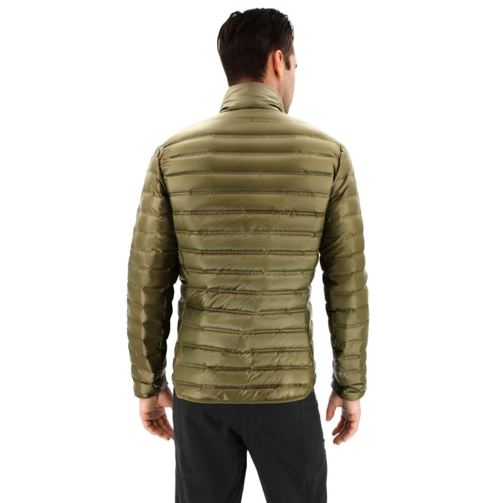 ADIDAS Men's Varilite Down Jacket - TRACE OLIVE