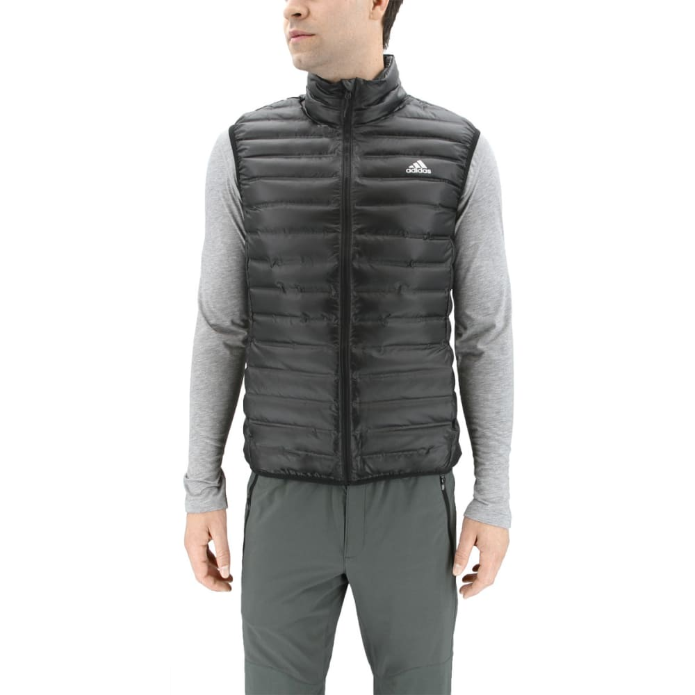 ADIDAS Men's Varilite Down Vest - BLACK