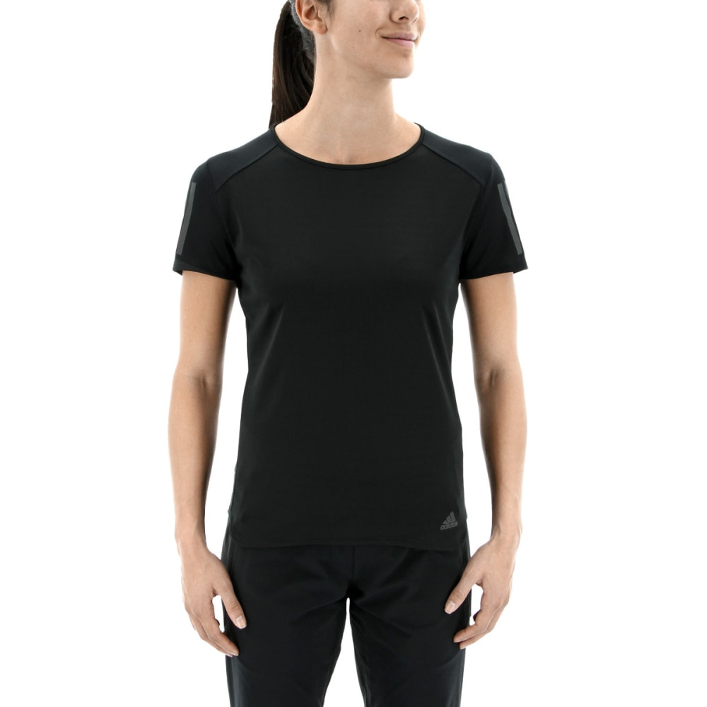 ADIDAS Women's Response Short Sleeve T-Shirt - BLACK