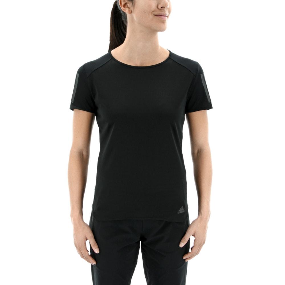 ADIDAS Women's Response Short Sleeve T-Shirt - BLACK