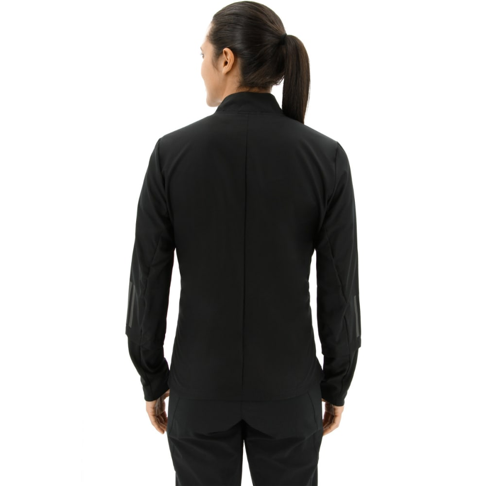 ADIDAS Women's Response Wind Running Jacket - BLACK