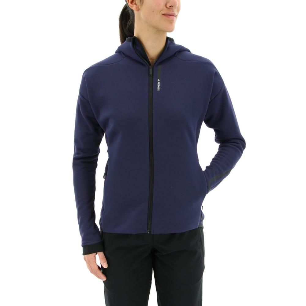 ADIDAS Women's Terrex Climaheat Ultimate Fleece Jacket - NOBLE INK