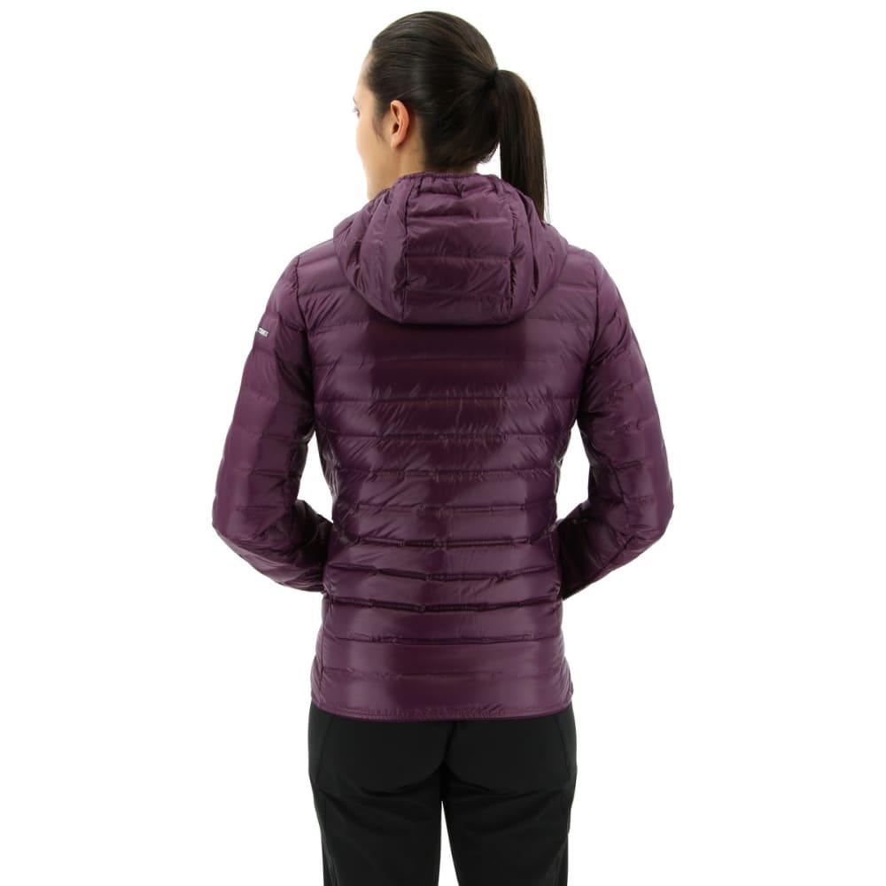 ADIDAS Women's Terrex Lite Down Hooded Jacket - RED NIGHT