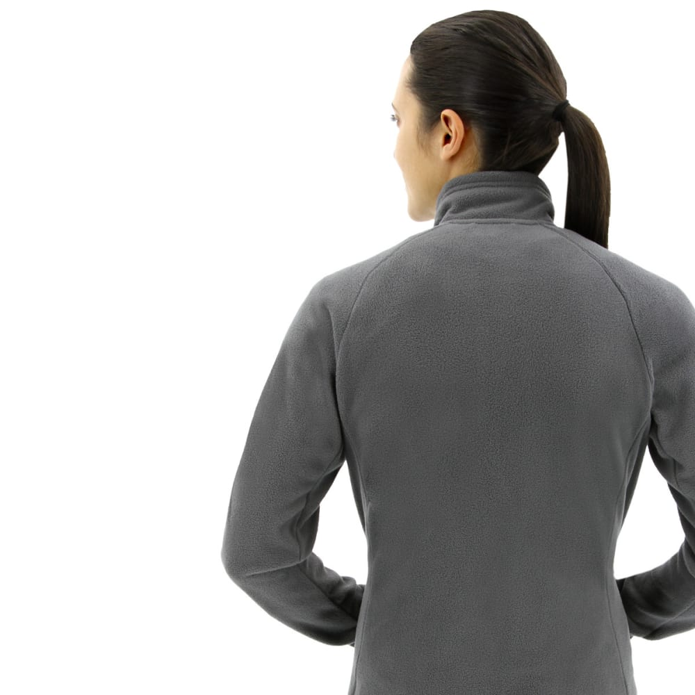 ADIDAS Women's Tivid Fleece Jacket - GREY FIVE